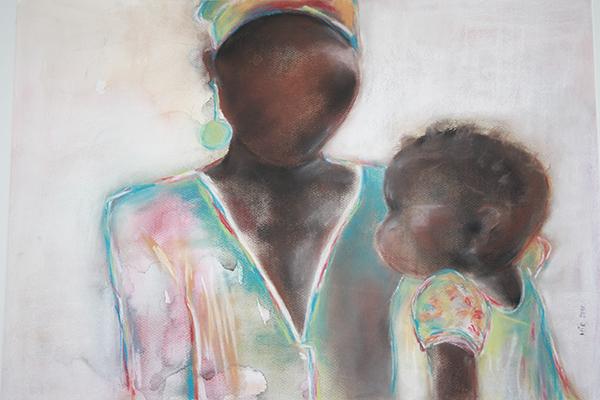 Moeder met kind 3